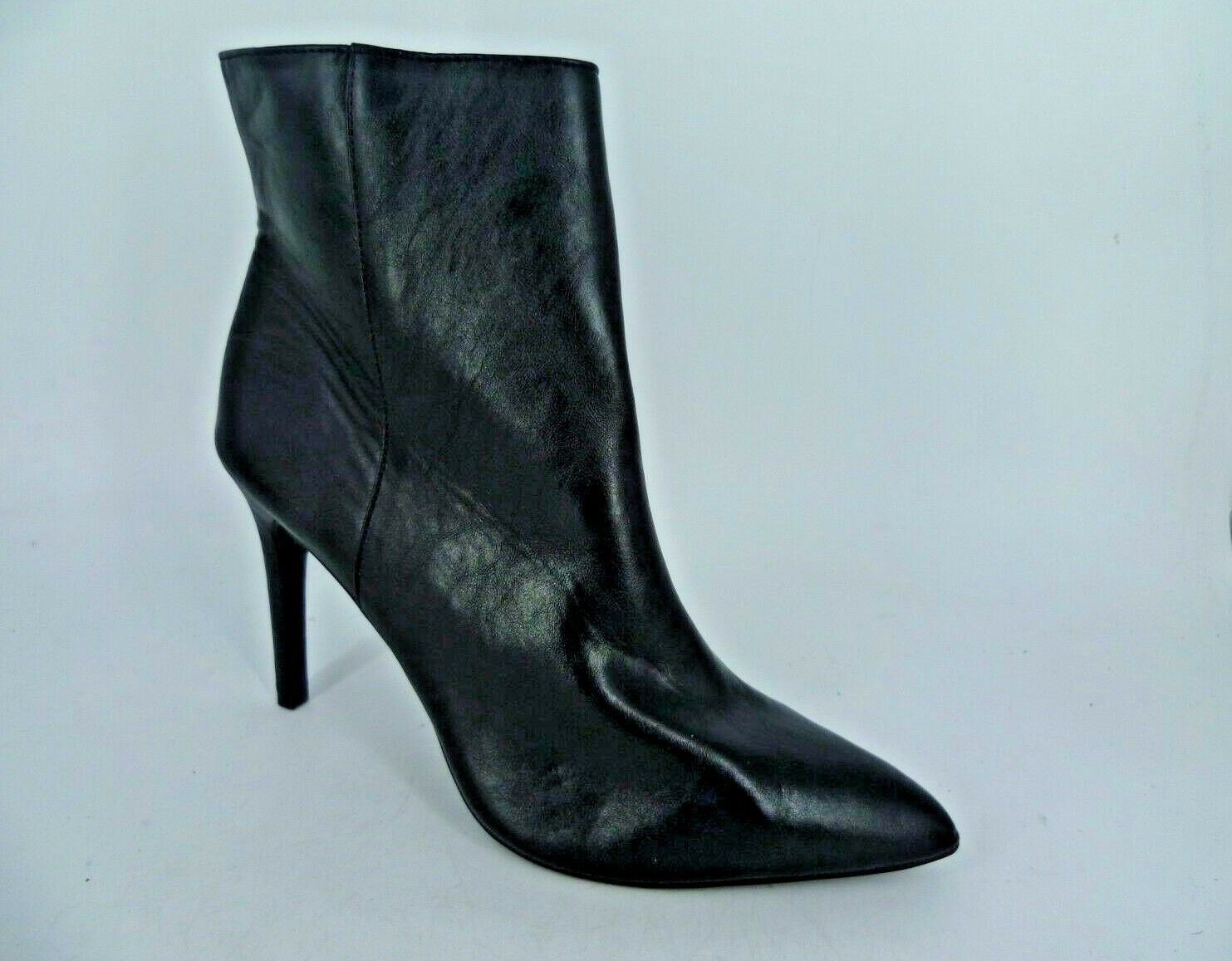 Marks & Spencers Insolia Pointed Toe Heeled Ankle Boots LN092 QQ 07