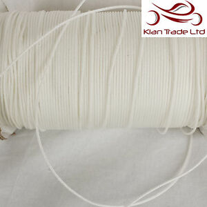 Image Is Loading 3mm POLYESTER Nylon BRAIDED WHITE CURTAIN BLIND PULL