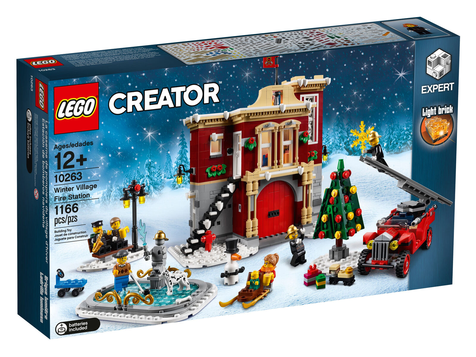 Lego CREATOR WINTER VILLAGE Estación De Fuego (10263)