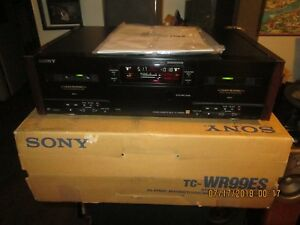 Sony-TC-WR99ES-Stereo-Cassette-Deck-AS-IS