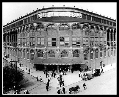 Ebbets Field Photo 8X10 - 1913 First Game New Stadium Brooklyn Dodgers Flatbush