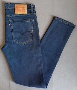 Dettagli su JEANS UOMO LEVIS LEVI'S 519 EXTREME Skinny Fit w32 l34 base mostra il titolo originale
