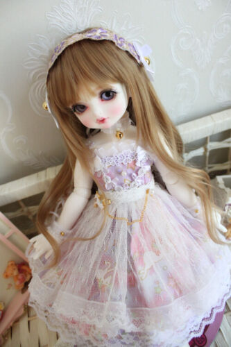 Lolita Dress Skirt For 1//6 1//4 MSD YOSD BJD Doll Dollfie Outfits PF