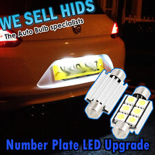 36mm 6SMD 5050 Weiß Nummernschild LED Upgrade VW Scirroco Golf Audi CANBUS 91-08