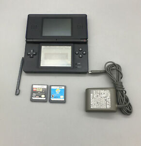 Nintendo-DS-Lite-Handheld-Video-Game-Console-Blue-Fast-Shipping-C09