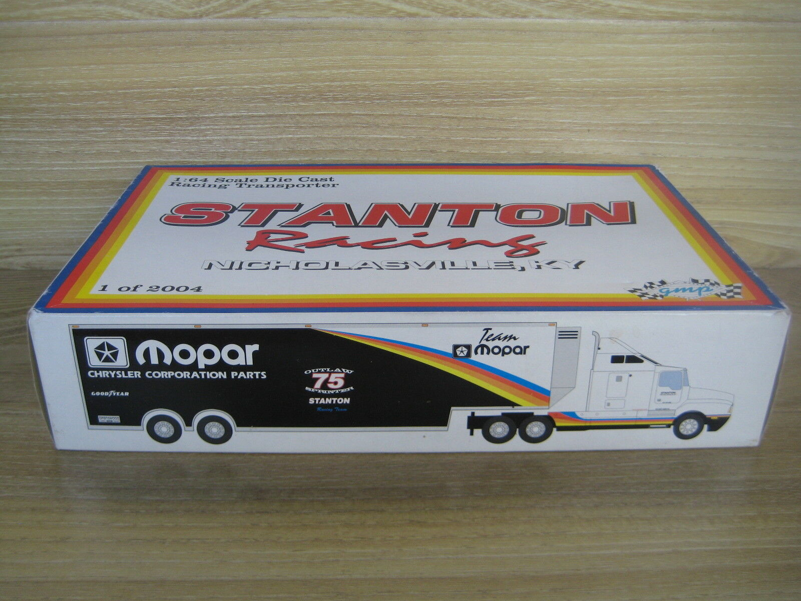GPM   STANTON RACING TRANSPORTER   Team Team Team MOPAR  1 64 scale 1 of only 2004 8dbef0