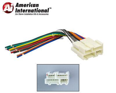 [SCHEMATICS_4US]  Car Stereo CD Player Wiring Harness Wire Aftermarket Radio Install Plug  Fits GM | eBay | Chevrolet K3500 Wiring Harness |  | eBay