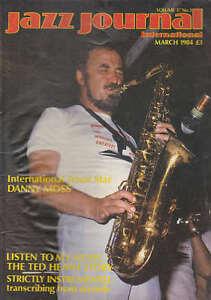 JAZZ-JOURNAL-MAGAZINE-1984-MAR-DANNY-MOSS-TED-HEATH-STORY-ART-FARMER