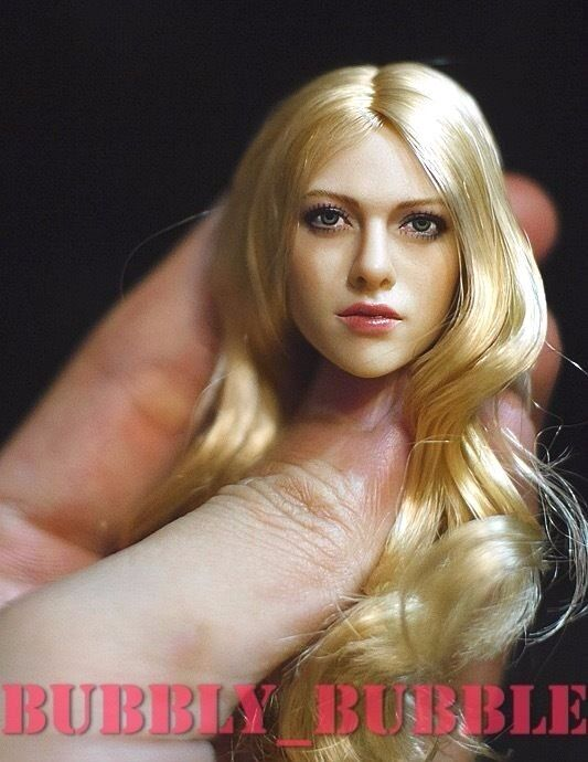 1 6 KIMI Toys KT004 Amanda Seyfried Head Sculpt For Phicen Hot Toy SHIP FROM USA