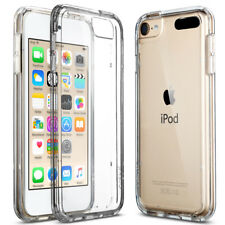 for Apple iPod Touch 6 5th Crystal Clear Slim Shockproof Bumper Hard Case Cover