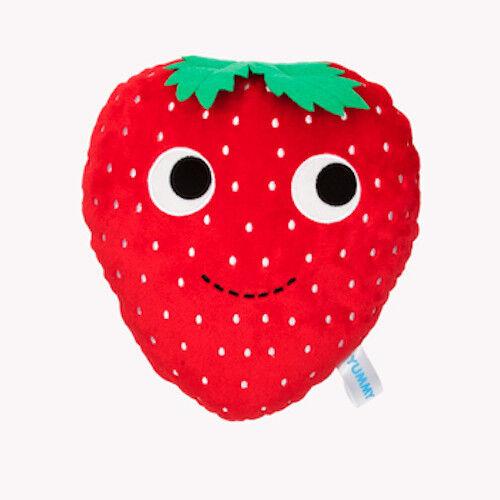 """Yummy Picnic SASSY STRAWBERRY 10/"""" Plush kidrobot Heidi Kenney Breakfast-NWT"""