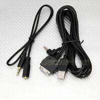 Ipod Iphone To Alpine Usb Mp3 Cord Cable Kcu-461iv For Ive-w535hd Ive-w530