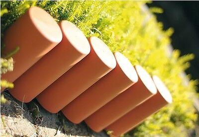 Gartenpalisade 2,7m Rasenkante Beetumrandung Beetabgrenzung IPAL5 TERRAKOTTA