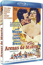 Legend of the Lost NEW Classic Blu-Ray Disc H. Hathaway John Wayne Sophia Loren