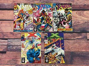 UNCANNY-X-MEN-281-282-283-X-Factor-63-65-Comic-Book-LOT-Signed-Whilce-Portacio