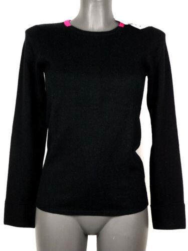 Tg Magenta Cachemire Coton Noir American Fabriqu Femmes Retro 40 7gRpq