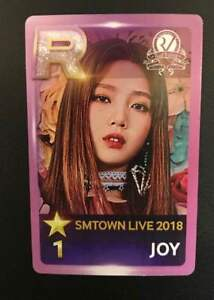 Red-Velvet-JOY-Photocard-SMTOWN-in-OSAKA-DOME-2018-Goods-official-card