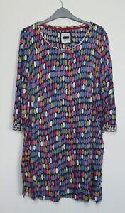 Mistral-Pebble-Rock-Spot-Tunic-Dress-top-Size-8-18