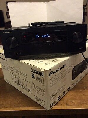 Pioneer VSX-523K 4K Ultra-HD 80Wx5 5.1-Channel Home Theater AV Receiver with Rem