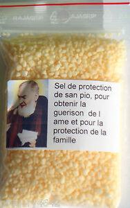 SEL DE PROTECTION SAINT PIO POIDS 50 GR tqvxjGAa-09095152-184659547