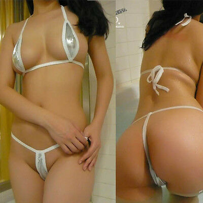 Sexy Women Lingerie Bra Sets Micro Bikini 3 Colors Underwear Thong G String Hot