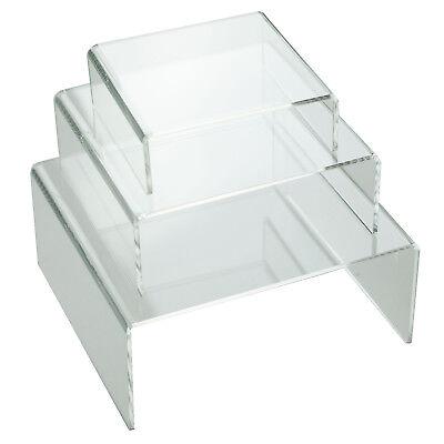 "*5 Medium 4-1//4/"" Riser Display Stands Pedestals For Collectibles Memorabilia"