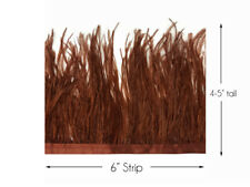 "30 Pcs BURNT COQUE FRINGE LILAC 8-12/"" Tall Feathers Pad"