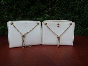 2er Set petits Taschen Hand- vintage Deko 1950 Design 20. Jahrhundert