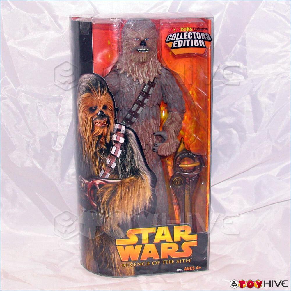 Estrella Wars 12 Pulgadas Pulgadas Escala Chewbacca Figura Ep3 Revenge Of The Sith rojos Kb Juguetes