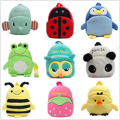 Hot Toddler Baby Kids Cartoon Animal School Bag Travel Snacks Bag Backpack Gifts