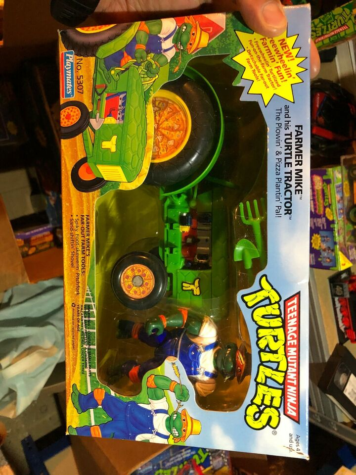 Turtles Farmer Mike MIB, Playmates