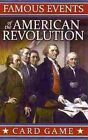 Famous Events of The American Revolution Card Game 9781572816824 Games