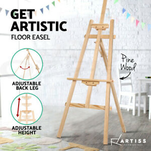 Artiss-Easel-Pine-Wood-Art-Display-Painting-Shop-Tripod-Stand-Wedding-147cm