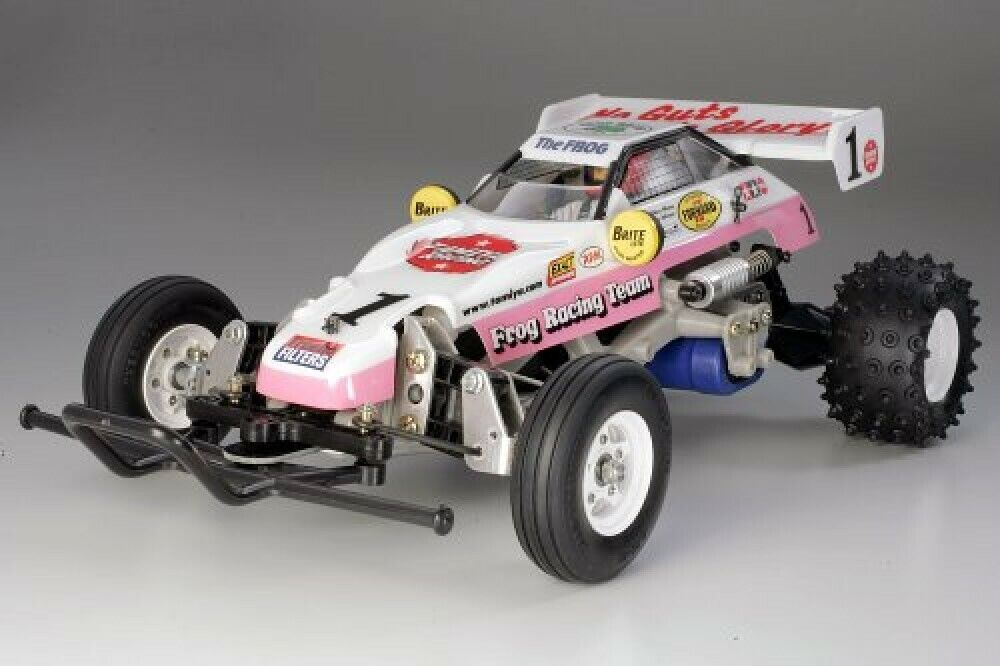 Tamiya 1 10 Electric RC Coche Series No.354 Mighty Frog 2005 Offroad 58354