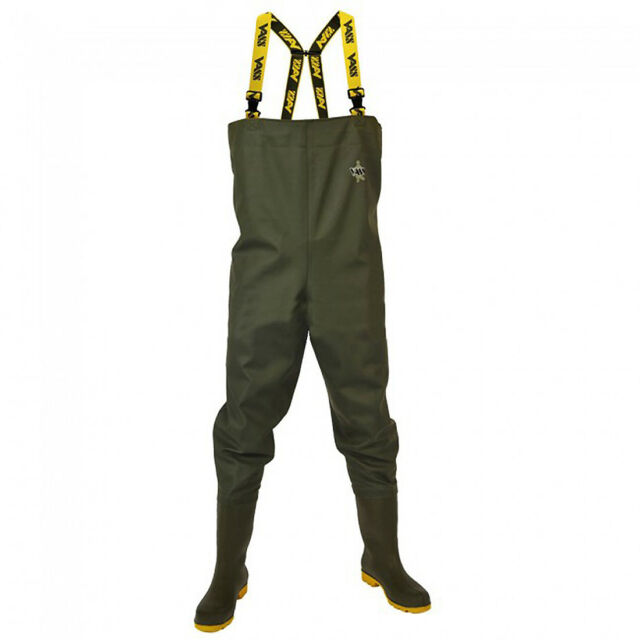All Sizes Vass Tex NEW 600 Series PVC Chest Fishing Waders