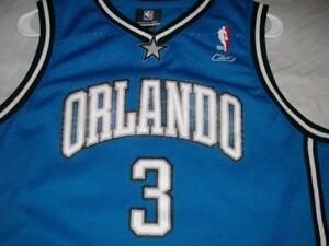2be9669ed294 Steve Francis 3 Orlando Magic NBA Blue Reebok Mesh Jersey Boy s XL ...