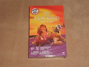 Board Game Travel Version Ready to Roll The Lion King The Game New Disney