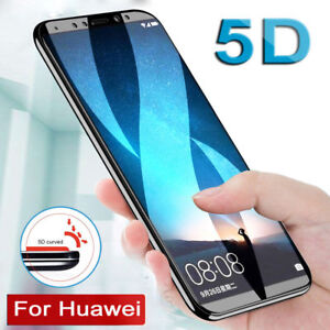 5D-Curved-Full-Tempered-Glass-Film-Screen-Protector-Huawei-Mate-10-P10-Lite-LS