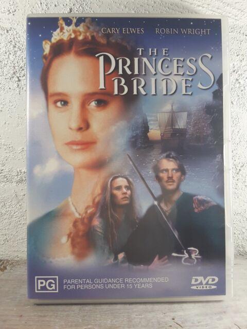 The Princess Bride (DVD, 1987) Cary Elwes, Mandy Patinkin, Robin Wright - REG 4