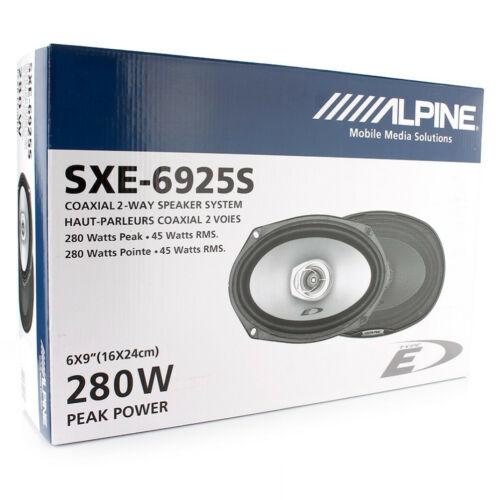 2 ALPINE SXE-6925S diffusori 150 x 230 mm 280 watt max predisposizione auto car