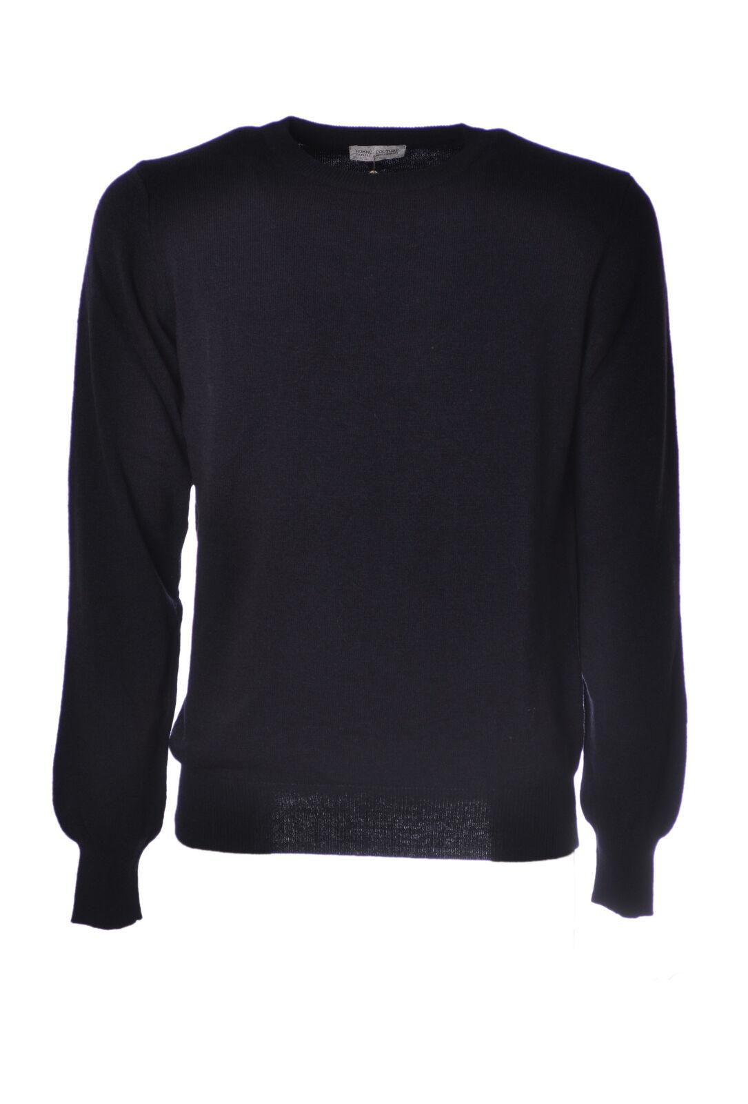 Daniele Alessandrini  -  Sweaters - Male - bluee - 4612022A182101
