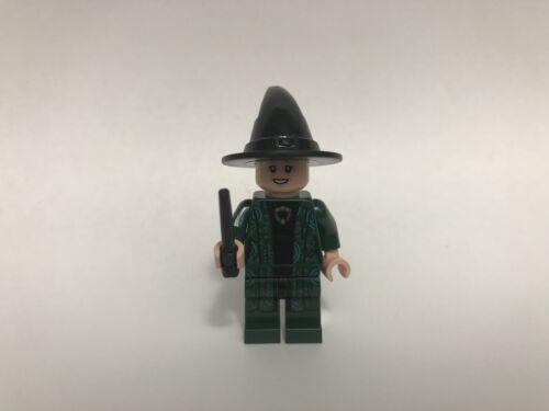 hp152a New Lego Professor Minerva McGonagall Minifigure From Set 75964