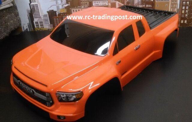 Custom Painted Body Toyota Tundra For 1/10 RC Short Course Truck Traxxas  Slash
