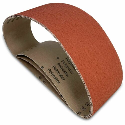Extra Long Life 3 Pack 4 X 60 Inch 36 Grit Metal Grinding Ceramic Sanding Belts