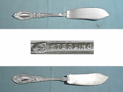 """S TOWLE STERLING 5 3//4/"""" FLAT HANDLE BUTTER SPREADER ~ OLD MASTER ~ NO MONO"""