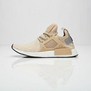 new style 575f8 f73c2 Details about Adidas NMD XR1 PK Men Linen Silver S77194 NMD XR1 Primeknit