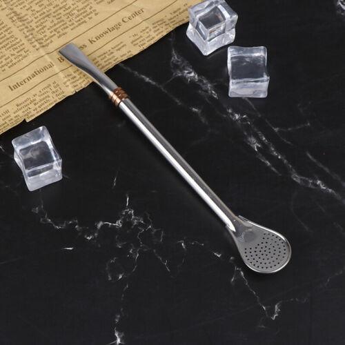 Stainless Steel Straws Metal Filter Drinking Reusable Straw Metal Tea Tools-JT