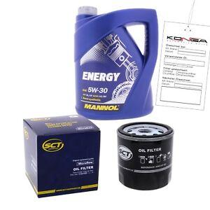 inspektionskit mannol energy 5w-30 für mazda 121 ii 1.3 16v 1.3i mx
