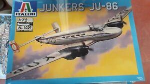 Maquette-Italeri-N-1029-1-72-JUNKERS-JU-86-civil-Allemand-034-NEUF-034