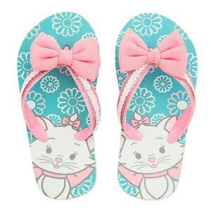 Disney-Authentic-Aristocats-Marie-Flip-Flops-Girls-Sandals-5-6-7-8-9-10-11-12